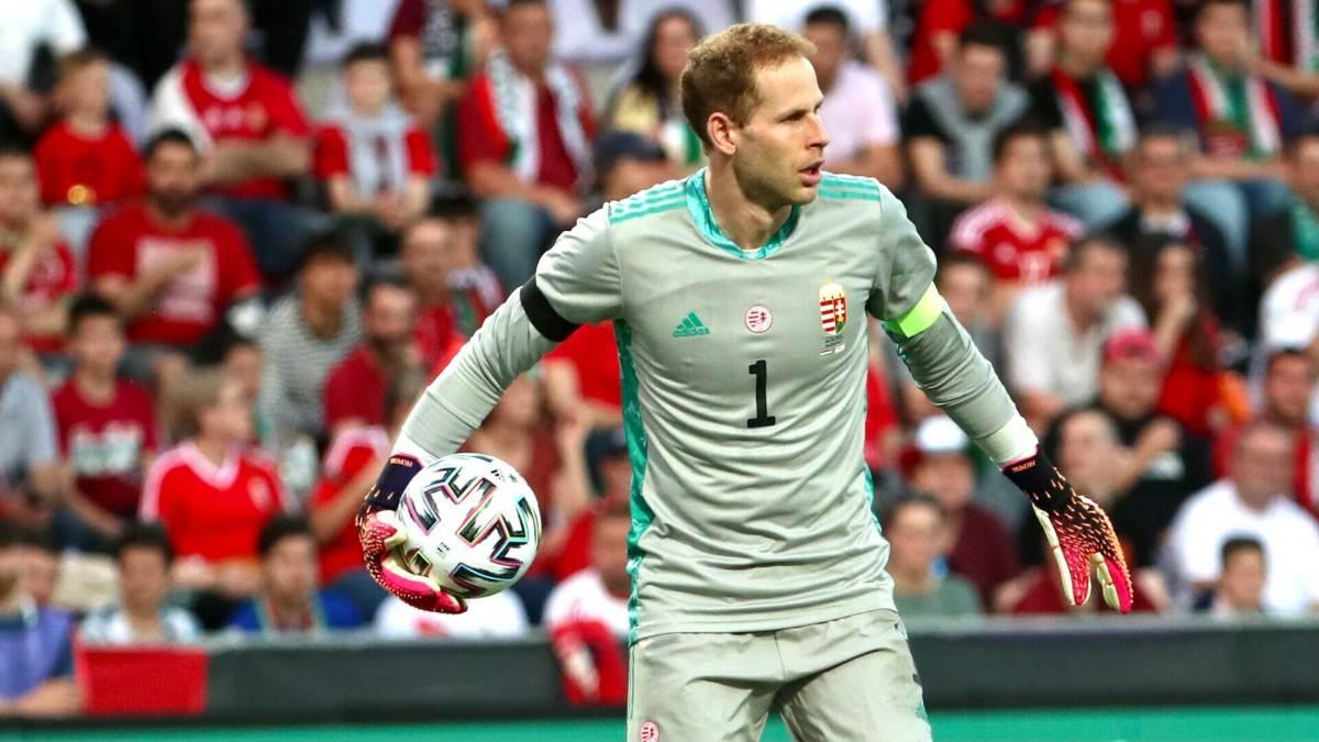 Gulácsi Péter a Magyarország-Ciprus felkészülési mérkőzésen
